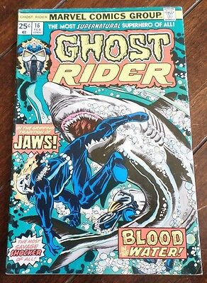 Ghost Rider #16 (1976) Blood in the Waters!