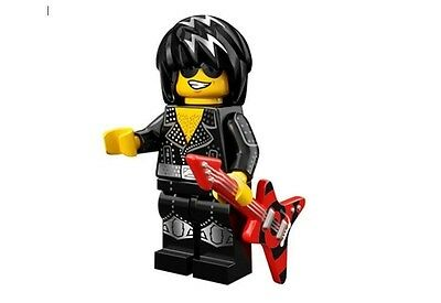 LEGO 71007 MINIFIGURES Series 12 Rock Star with unused code