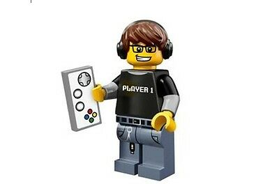 LEGO 71007 MINIFIGURES Series 12 Video Game Guy with unused code