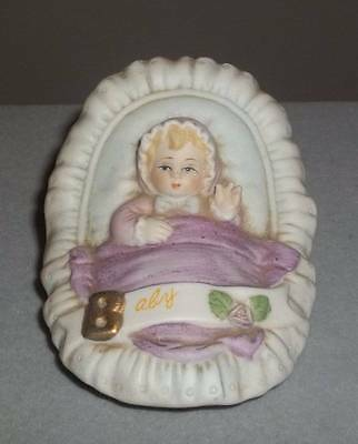 Vintage 1983 Enesco Baby Girl Figurine