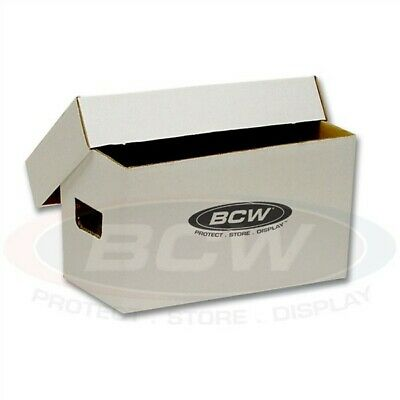 Bundle of 10 BCW 45RPM Record Single Corrugated Storage Boxes