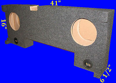 """Chevrolet Chevy Tahoe 2000-06 10"""" Down Fire Grey Subwoofer Sub Enclosure Box"""