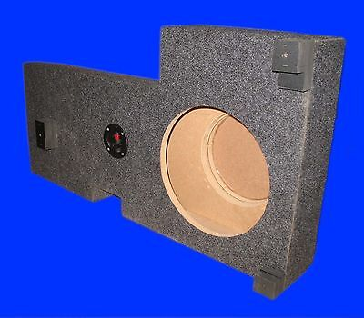 """Chevrolet Chevy Tahoe 2000-06 Sin 10"""" Down Fire Grey Subwoofer Enclosure Box"""