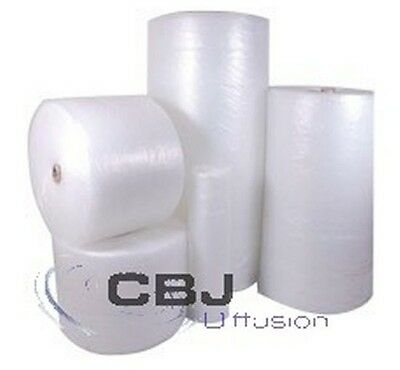 LOT D EMBALLAGE 2 ROULEAUX FILM A BULLES 50 x 100 BULLE Ø10 Traction / levage