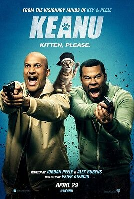 Keanu - original DS movie poster - 27x40 D/S FINAL Cats