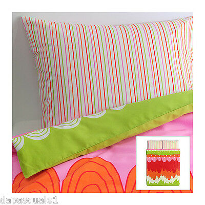 IKEA ANGSKRASSE - Duvet Cover and 2 Pillowcases Full/Queen Lyocell Cotton