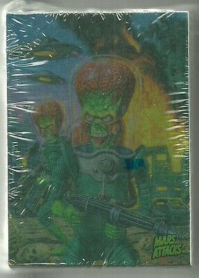 2016 Topps Mars Attacks Occupation - Foil Parallel 81 Insert Card Set Sealed