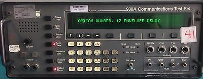 Sage 930A Communications Test Set w 03 or 17