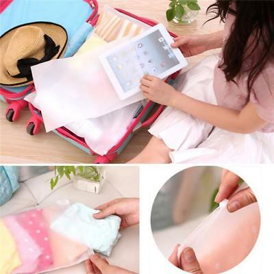 5Pcs NEW! Space Saver Organizer Packaging Pouch Waterproof Travel Storage Bag S