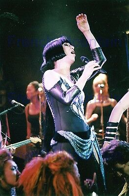 "Cher 4x6"" Color Concert Photo Singer on Stage 3027"