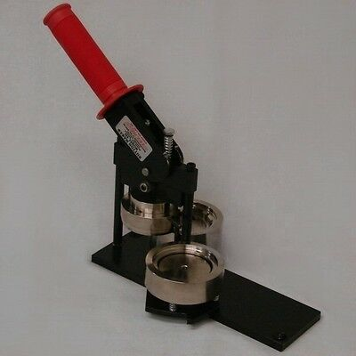"""Tecre 2 1/4"""" Model 225 Button Machine for making pinbacks, magnets, keychains"""