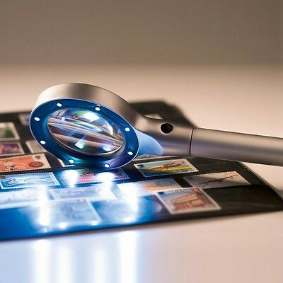Lighted Magnifier 2.5x magnification with 8 LED