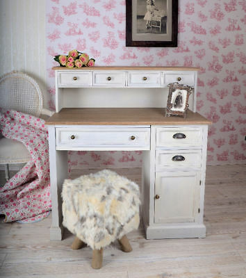 schreibtisch tisch palettenm bel upcycling shabby loft massivholz vintage chic eur 199 00. Black Bedroom Furniture Sets. Home Design Ideas