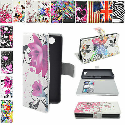 Magnet Flip Leather Card Hold Wallet Stand Cover Case For Various Mobile Phones