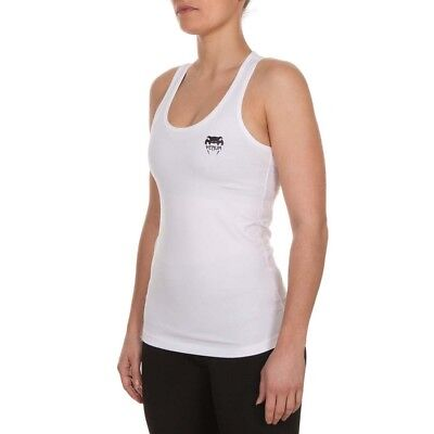 VENUM Tank Top, Women, Essential, weiß, Sport Top, Fitness, Damen Shirt, Gym MMA