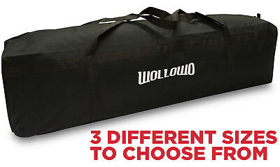 Wollowo Portable Football/Soccer Training Goal Posts Carry Bag