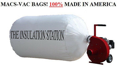 3 Insulation Removal Vacuum Bags 75 Cu. Ft. Holds Up To 300 Lbs Best Quality