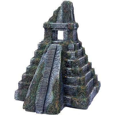 Aquarium Fish Tank Ornament Pagoda Pyramid Temple Tower Ruins Decoration 62164