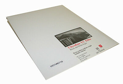 Ultrafine VC ELITE Glossy Variable Contrast RC Paper 8 x 10 / 25 Sheets