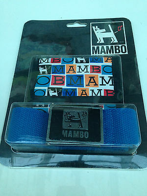 Brand New In Packet Boys 8 to 16 Years Genuine Mambo Brand Wallet & Belt Set