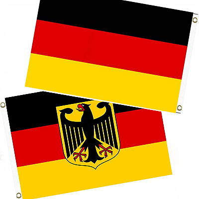 2 x Flags 90x150 in the Set EM 2016 Germany Flag XXL France flags Flag