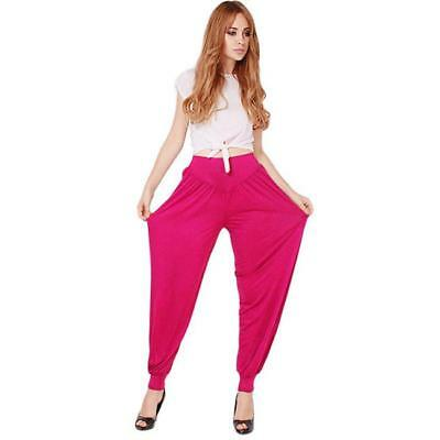 Women Harem Hip Hop Causal Sports Dance Yoga Pants Trousers Baggy Jumpsuit - LD