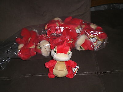 """6 NEOPETS  SCORCHIO 7"""" 2002 LIMITED EDITION PACK OF 6 Multicolor NWT"""
