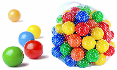 Ball Pit s children kids plastic play pool multi coloured toy soft mixed plastic