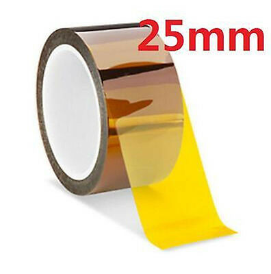 DZ935 25mm 100ft Kapton Tape BGA High Temperature Heat Resistant Polyimide Gold☆