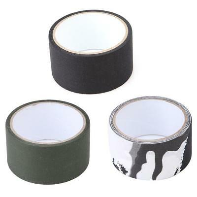 5M Outdoor Camouflage WRAP RIFLE GUN Hunting Waterproof Camo Stealth Duct Tape Z
