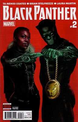 BLACK PANTHER (2016) #2 - 2nd Print - New Bagged