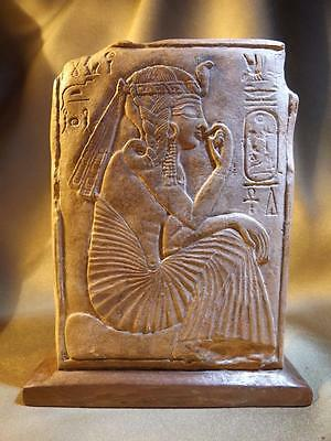 Egyptian art / sculpture replica Ramses as a young prince & the worship of Ptah