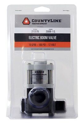 Countyline Solenoid Shut Off Valve 2113176 2500B-1 Cl