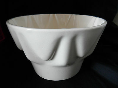 Art Deco Keramik Puddingform WÄCHTERSBACH Puddingform 30er-40er Jahre (B388)xx