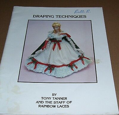How To Craft Book Vintage Doll Draping Techniques 1986 By Tony Tanner