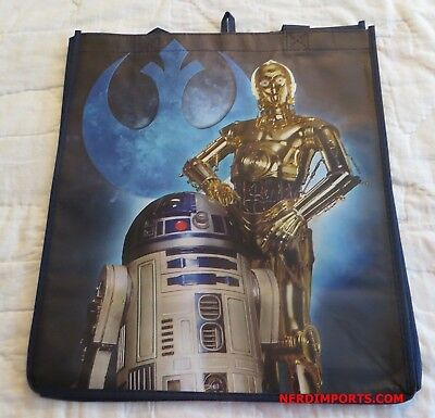 Star Wars Shopping Tote Bag - C3Po & R2-D2 - New Limited Edition