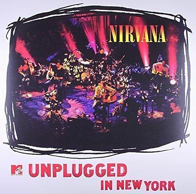 Nirvana - MTV Unplugged in New York - New 180g Vinyl LP 12' + MP3 Factory Sealed