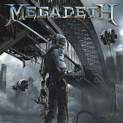 MEGADETH 'Dystopia'  VINYL LP 2016 + MP3 DOWNLOAD CODE - FACTORY SEALED