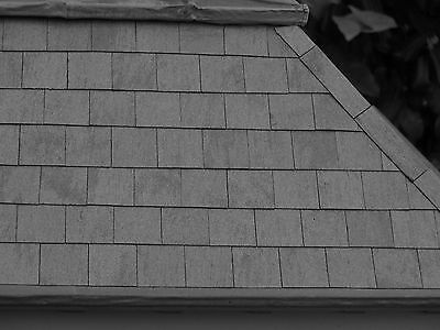50 1:12th Dolls House Versi Slate Roof Tiles