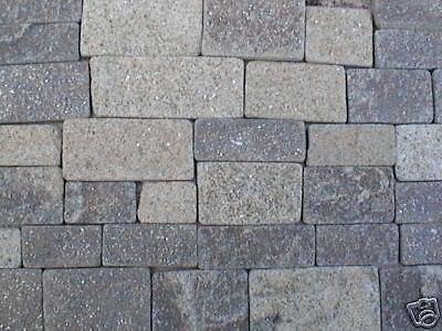REAL STONE Miniature Coursed Castle Stone Facing Slips