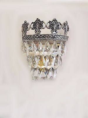 Gorgeous Vintage/French Style Crystal Glass Wall Lights WL00-2S