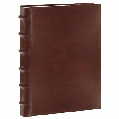 200-Pocket Bonded Leather Photo Album, for 5 X 7 prints, in Brown