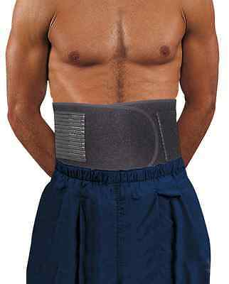 Back lumbar support double adjustable neoprene strap brace sports injury