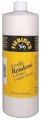 Fiebings Acrylic Resolene - Leather Protector - 32Oz / 946Ml