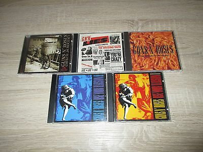 Guns`n Roses: 5-CD-Musik-Sammlung Use Your Illusion 1+2 Chinese Demoracy + ...