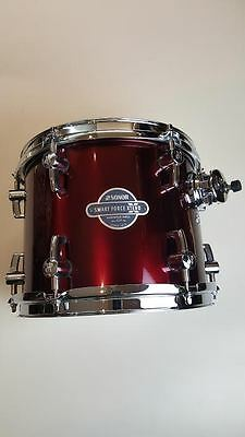 "Sonor 10x8"" Tom Smart Force Xtend Hardwood Shell CLTF Wine Red"
