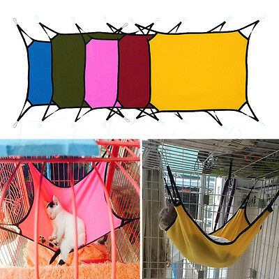 Pet Hammock Soft Bed Animal Hanging Pupply Cat Dog Comforter Ferret Cage House