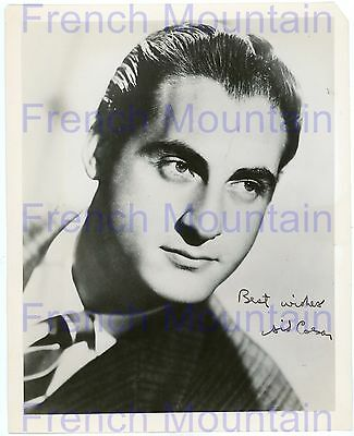 """Sid Caesar Actor Comedian 8x10"""" Autograph Photo Guaranteed Authentic 126"""
