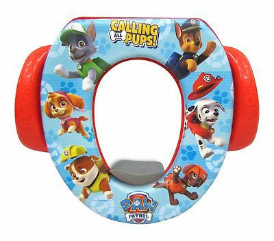 Ginsey Paw Patrol Soft Potty Seat Red/Blue Training Toilet Kid Toddler Baby