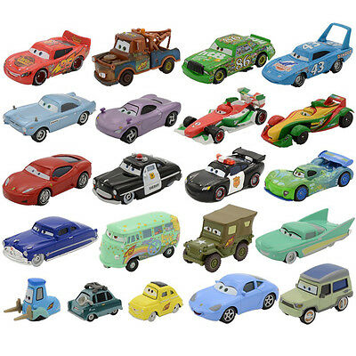 Disney Diecast Metal Cars1Car2 Frank Harvester Andy Gearsdale The King Toy Cars